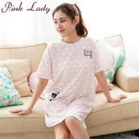 PINK LADY 小熊滿版星星睡衣(豆沙)87298