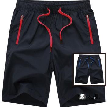 【男人幫】運動短褲男韓版寬鬆快乾海灘褲子夏天五分褲(CH573)