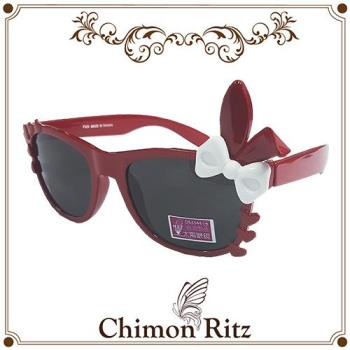 【Chimon Ritz】甜心兔兔兒童太陽眼鏡/墨鏡-紅