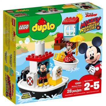樂高積木 - DUPLO Disney TM得寶系列 - Mickeys Boat 10881