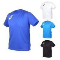 ASICS 男女限量運動排汗LOGO短袖T恤-慢跑 路跑 亞瑟士