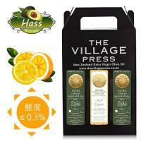 壽滿趣- 紐西蘭廚神系列 頂級冷壓初榨黃金酪梨油2瓶+地中海柑橘風味橄欖油(250ml三瓶禮盒裝)