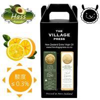 壽滿趣- 紐西蘭廚神系列 頂級冷壓初榨黃金酪梨油/地中海柑橘風味橄欖油(250ml兩瓶禮盒裝)