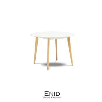餐桌 Enid北歐風圓餐桌【obis】