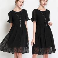 麗質達人- 2997黑色波點洋裝