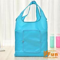 iSFun 防水素面 環保摺疊輕便購物袋 多色可選