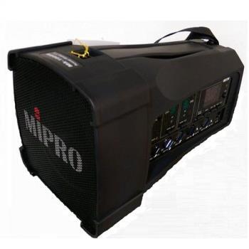 MIPRO MA-100DB(超迷你肩掛式雙無線喊話器)最袖珍聲音最宏亮清晰的擴音利器
