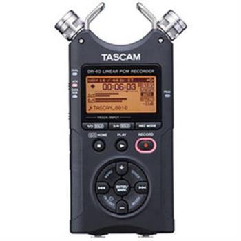 【日本TASCAM】攜帶型數位錄音機 DR-40