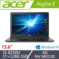 Acer宏碁 Aspire E 效能筆電 E5-576G-57VQ 15.6吋/i5-8250U/4G/1T+128G SSD/NV MX130