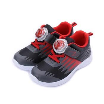 戰鬥陀螺 燈殼運動鞋 黑紅 BEKX85600 中大童鞋 鞋全家福