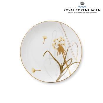 ROYAL COPENHAGEN芙蘿拉花神骨瓷盤22cm-蒲公英
