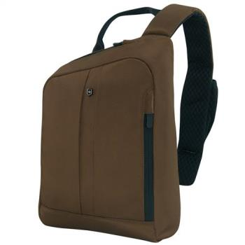VICTORINOX 瑞士維氏TA 4.0平版單肩背包-深咖啡 604863