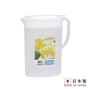 冷水壺 3.0L 白(日本製造)