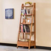 Boden-維納1.8尺全實木單抽五層多功能收納置物架/書架