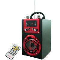 J-GUAN 雙人K歌手提藍牙USB插卡音響(JG-BS8058)