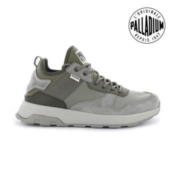 Palladium AX_EON ARMY RUNNER休閒鞋-男-化石灰