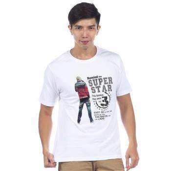 【滑雪家SKISPORTS】排汗透氣高精梳純棉T恤-T0100-13白色(M~XL)
