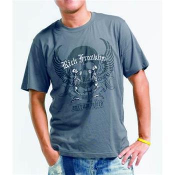 【滑雪家SKISPORTS】排汗透氣高精梳純棉T恤-T8100-20深鐵灰(M~XL)