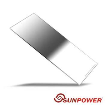 SUNPOWER Reverse 150X170mm GND0.9 ND8 反向 方型 玻璃漸層鏡(150x170,湧蓮公司貨)減3格