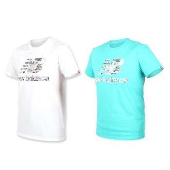 NEWBALANCE NEW BALANCE男短袖T恤-短T T恤 慢跑 路跑 NB
