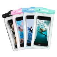 NISDA 帥氣漂浮氣囊 6吋以下手機防水袋 防水等級IPX8 For iPhone 8 Plus/ X/ 7 Plus/ 華為P20