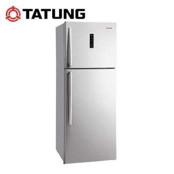 TATUNG大同 420L 大同雙門冰箱 TR-B420VHW-S~ 107/7/31前購買享原廠好禮送+加碼送超商禮券1000(鑑賞期過後寄出)