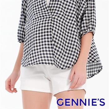 Gennies奇妮-沁涼微抓破短褲-白(T4F01)