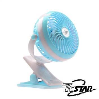 T.C.STAR 颶風大電量隨身兩用風扇 TCF-SU012
