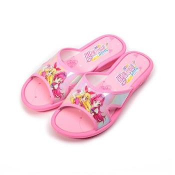 偶像學園 套式拖鞋 粉 ID0715 中大童鞋 鞋全家福