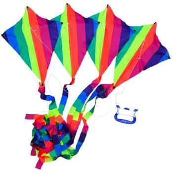 哈街 MIT台灣製造-彩色多節串聯風箏