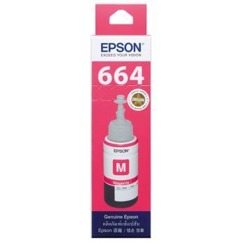 EPSON T664 系列 【紅色】原廠墨水-T664300