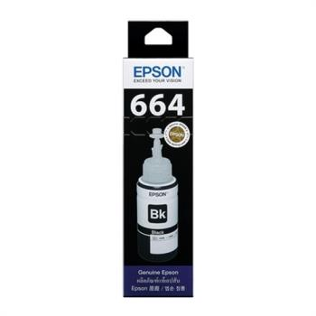 EPSON T664 系列 【黑色】原廠墨水-T664100
