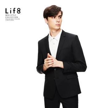 Life8-Formal 經典素面 修身西裝外套