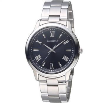 SEIKO精工SPIRIT簡單美學太陽能腕錶 V131-0AG0D SBPL011J