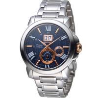 SEIKO 精工 Premier人動電能萬年曆腕錶 7D56-0AE0A SNP153J1