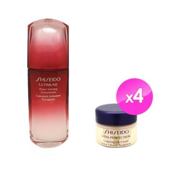Shiseido資生堂 紅妍肌活露緊顏白金超值組