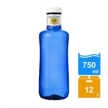 西班牙神藍Solan 天然礦泉水(750mlx12瓶)