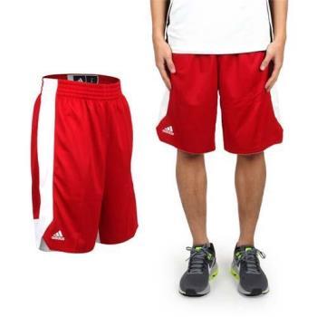 ADIDAS 男籃球短褲-雙面 競賽 五分褲 運動短褲 愛迪達