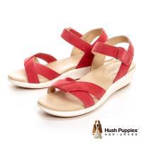 Hush Puppies LYRICALE 機能健走涼鞋 女鞋-桃紅