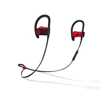 10週年系列 Beats Powerbeats3 Wireless 入耳式藍芽運動耳機-桀驁黑紅(原廠公司貨)
