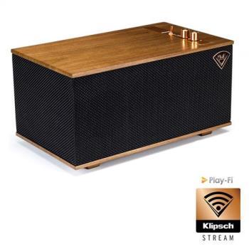【Klipsch】The Three(藍芽WIFI無線音樂串流系統喇叭)復古無線串流播放系統