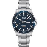 MIDO 美度 OCEAN STAR 海洋之星200米潛水機械錶(藍/42mm) M0264301104100
