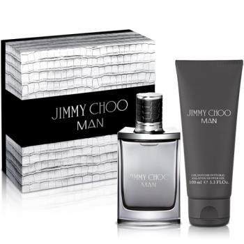 Jimmy Choo 同名男性淡香水禮盒(淡香水50ml+沐浴精100ml)