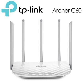 《拆封福利品》TP-LINK Archer C60 AC1350無線雙頻路由器