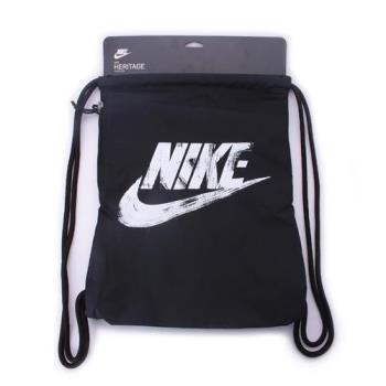 NIKE Heritage Gymsack 束口包 黑白 BA5431-016 鞋全家福