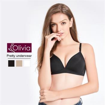 Olivia 無鋼圈冰絲涼感無痕輕薄內衣