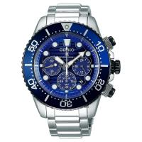 SEIKO精工 Prospex Diver 愛海洋太陽能計時手錶 V175-0AD0A(SSC675P1)
