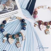 DINA JEWELRY蒂娜珠寶  灰姑娘奇遇 造型串珠手鍊 (DD9425)