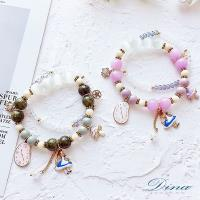DINA JEWELRY蒂娜珠寶  愛麗絲奇緣 造型串珠手鍊 (DD7601)