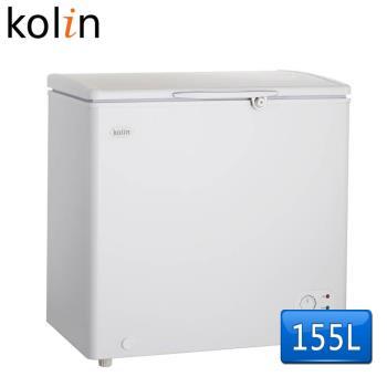 歌林Kolin 155L臥式冷凍冷藏兩用冰櫃KR-115F02